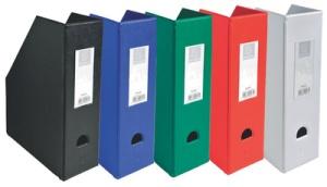 EXACOMPTA Stehsammler, DIN A4, Karton, 100 mm, weiß