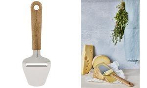 GastroMax Käsehobel BIO, holzfarbiger Griff