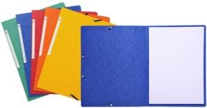 EXACOMPTA Eckspannermappe, DIN A4, aus Karton, gelb