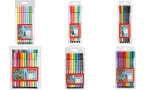 STABILO Fasermaler Pen 68, 6er Kunststoff-Etui