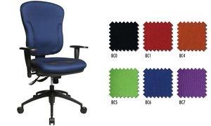 "Topstar Bürodrehstuhl ""Wellpoint 30 SY"", blau"