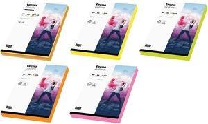 tecno Multifunktionspapier colors, A4, 80 g/qm, Neonfarben