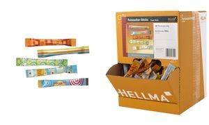 HELLMA Feinzucker-Sticks, im Displaykarton
